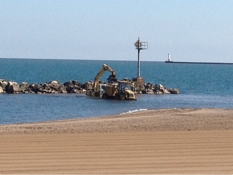 Lake Erie Sand Relocation
