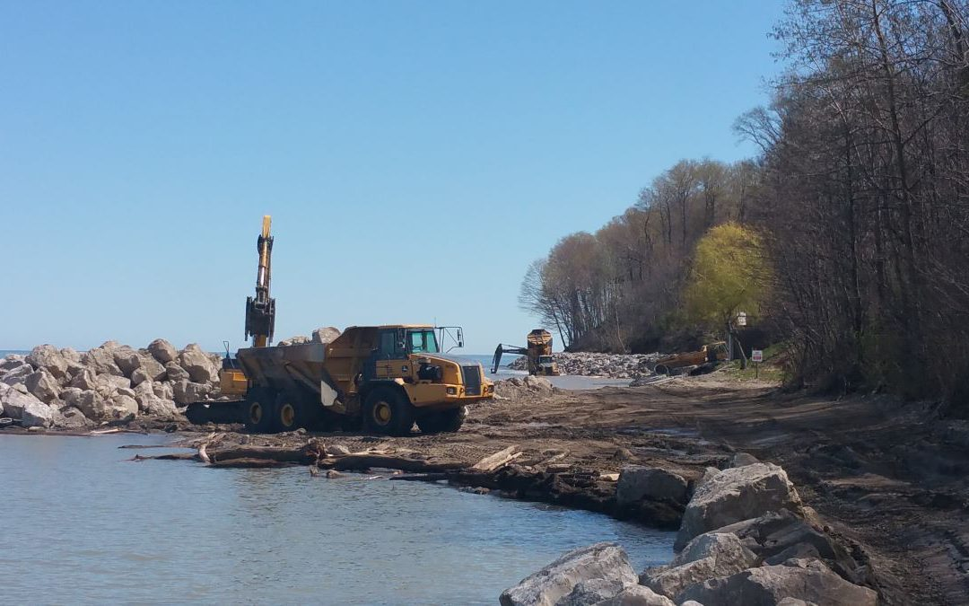 Madison Shoreline Erosion Control & Revetment