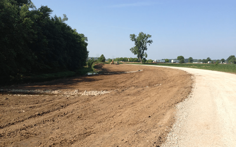 Floodplain Construction Buckeye Lake