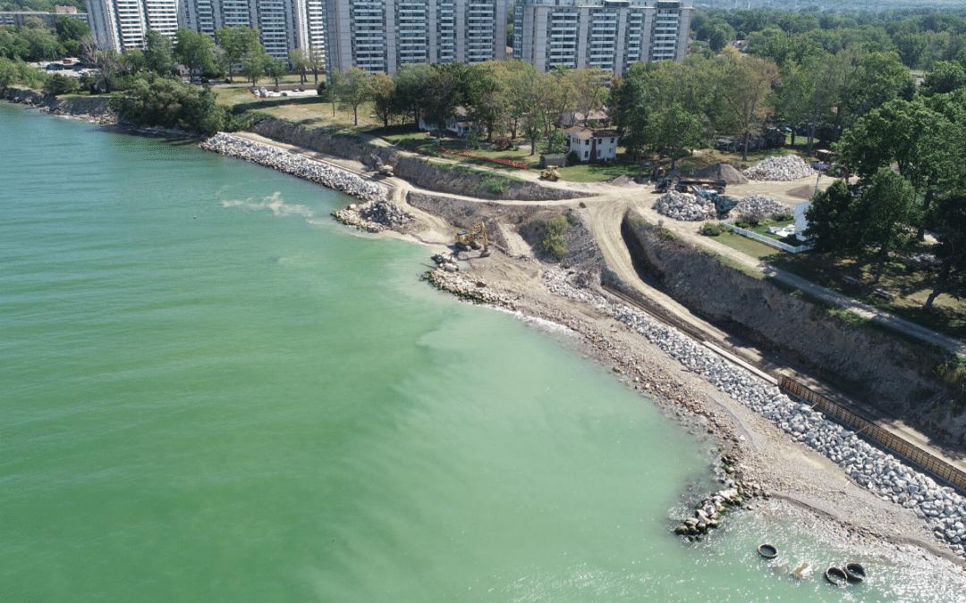 Sims Park Construction & Erosion Control